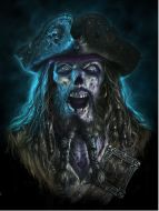 3D Picture Captain Grimbeard - (Earn 1 reward points on this item worth $0.25)