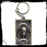 3D Keyring Ace of Spades 5.6cm  - (Earn 0 reward points on this item worth $0.00)