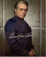 Edward James Olmos from the TV series BATTLESTAR GALACTICA (private signing)