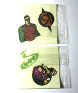 Batman Forever Kelloggs Cereal Premium Tattoos
