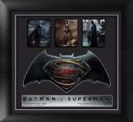 Batman v Superman: Dawn of Justice (Trio) Framed Movie Art