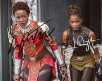 Letita Wright / Lupita Nyong'o from the movie BLACK PANTHER