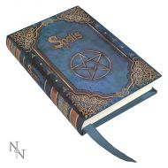 Embossed Book of Spells Blue A7 Journal - (Earn 0 reward points on this item worth $0.00)