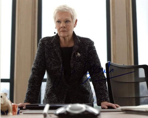 Judi Dench from the movie SKYFALL