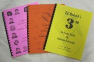 Facsimile Book Set 1-2-3 - (Earn 5 reward points on this item worth $1.25)