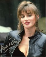 Amanda Pays from the TV series THE FLASH (private signing)