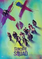 Suicide Squad™ (Squad) MightyPrint™ Wall Art
